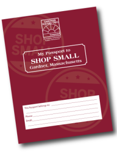 Shop Small in Gardner Passport